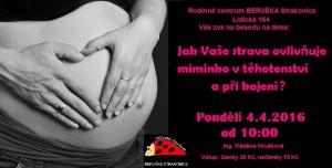 Beseda pro těhotné a kojící Beruška 4.4.
